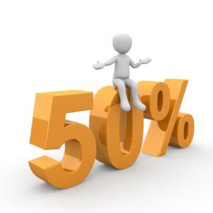 50% Rabatt SSV